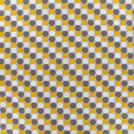 Tissu Poppy Little cuties - jaune x 10cm