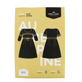 Dress sewing pattern - Deer and Doe - Aubépine