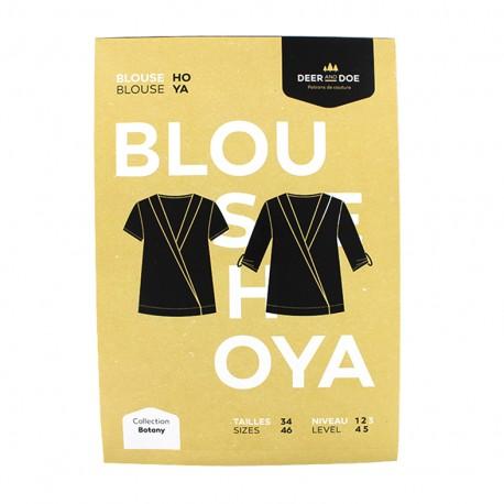 Sewing pattern Deer and Doe - blouse Hoya