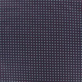 Tissu coton popeline Koki - rouge x 10cm