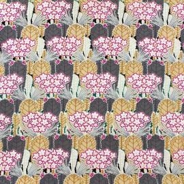 Tissu coton Floral - rose x 10cm