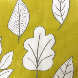 Varnished and coated cotton fabric Biscayne - honey x 10cm
