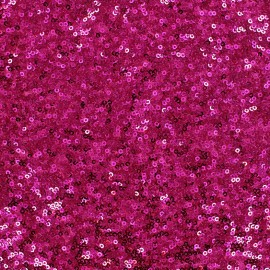 Sewn sequin fabric Célébration - fuchsia x 10cm