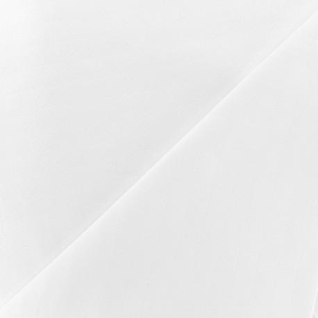 Tissu lange de coton - blanc x 10cm