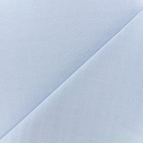 Tissu lange de coton - ciel x 10cm