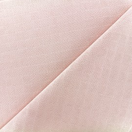 Cotton muslin fabric - pink x 10cm