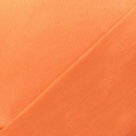 Tissu Oeko-Tex piqué de coton Molly - orange x 10cm