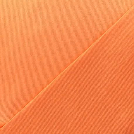 Stitched cotton fabric Molly - orange x 10cm