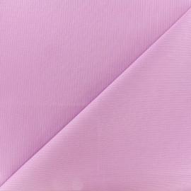 Tissu Oeko-Tex piqué de coton Molly - parme x 10cm