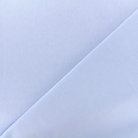 Tissu Oeko-Tex piqué de coton Molly - ciel x 10cm