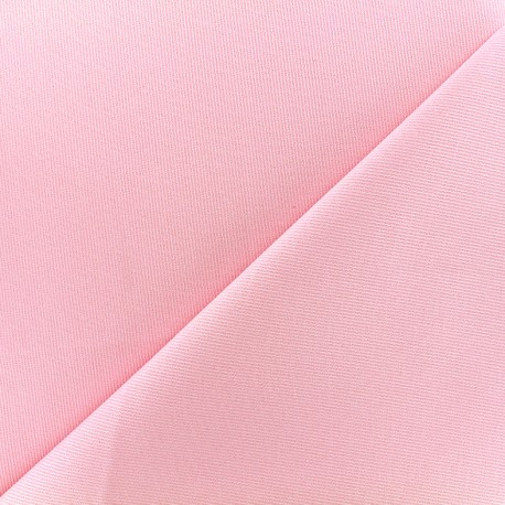Stitched cotton fabric Molly - pink x 10cm