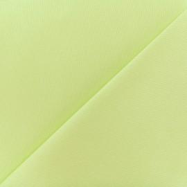Tissu Oeko-Tex piqué de coton Molly - anis x 10cm