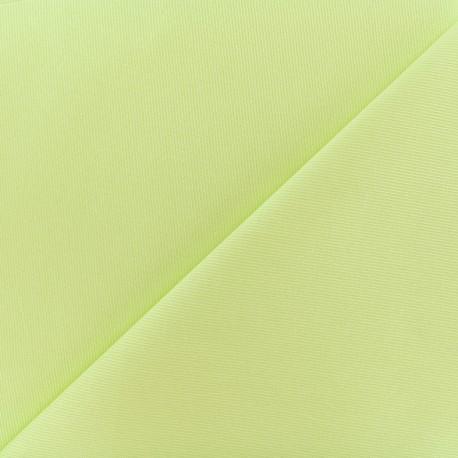 Tissu piqué de coton Molly - anis x 10cm