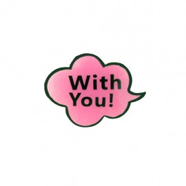 Lapel pin Comic Strip - with you
