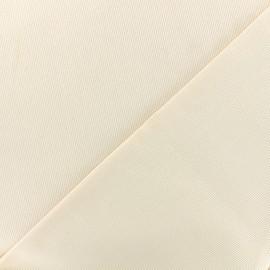 Stitched cotton fabric Molly - ecru x 10cm
