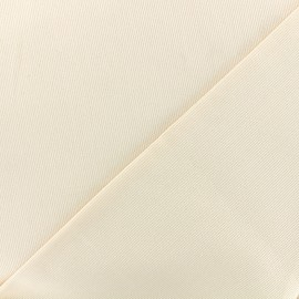 Tissu piqué de coton Molly - écru x 10cm