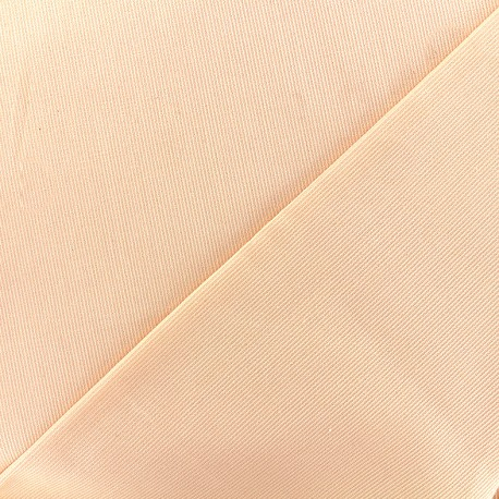Stitched cotton fabric Molly - peach x 10cm