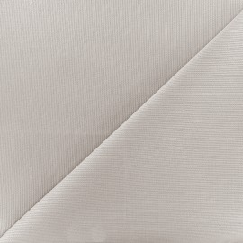 Stitched cotton fabric Molly - grey x 10cm