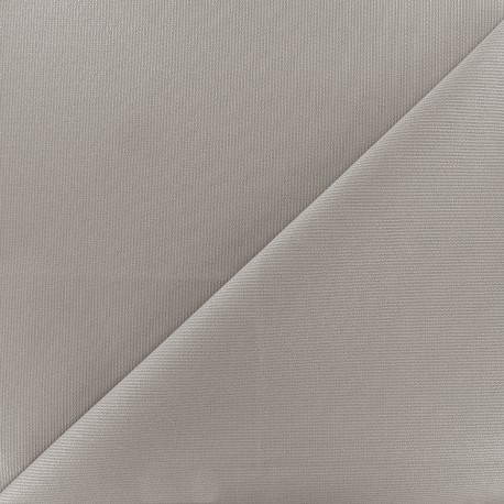 Tissu piqué de coton Molly - anthracite x 10cm