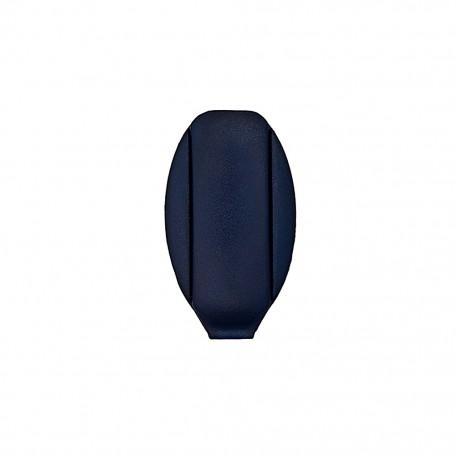 Embout de cordon Ellipse - bleu nuit