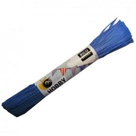 Raffia ribbon - blue