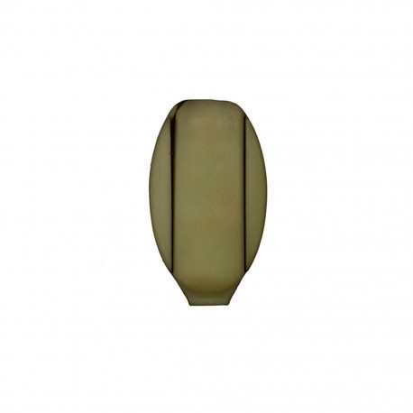 Cord end piece Ellipse - army green