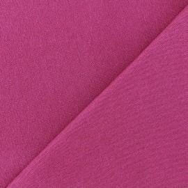 Heavy plain Milano jersey fabric - violine x 10cm