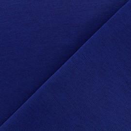 Tissu Jersey Milano lourd uni - navy x 10cm