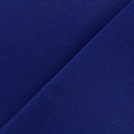 Heavy plain Milano jersey fabric - navy x 10cm