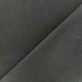 Large width linen fabric - slate x 10cm