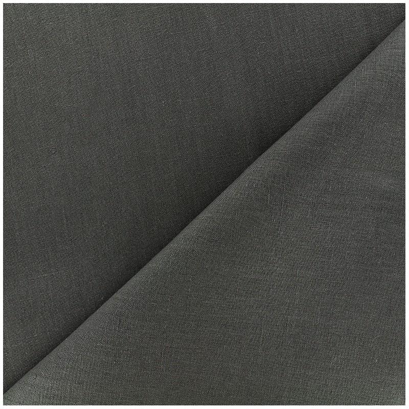 tissu lin grande largeur ardoise x 10cm ma petite mercerie. Black Bedroom Furniture Sets. Home Design Ideas