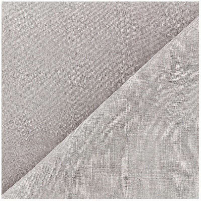 tissu lin grande largeur gris perle x 10cm ma petite mercerie. Black Bedroom Furniture Sets. Home Design Ideas