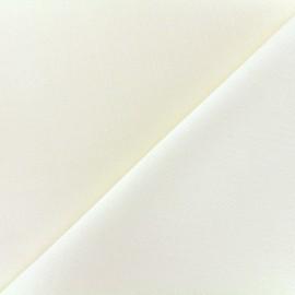 Tissu lin grande largeur - crème x 10cm