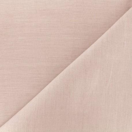 tissu lin grande largeur rose x 10cm ma petite mercerie. Black Bedroom Furniture Sets. Home Design Ideas