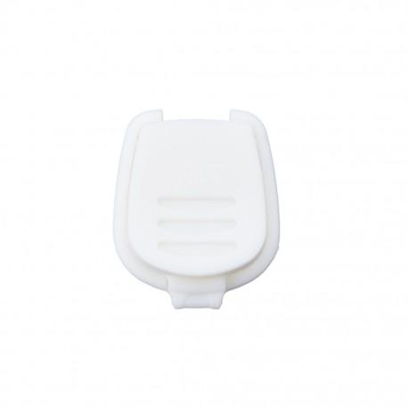 Cord end piece Sport- white