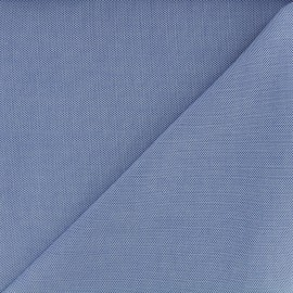 Oxford cotton fabric - blue x 10cm