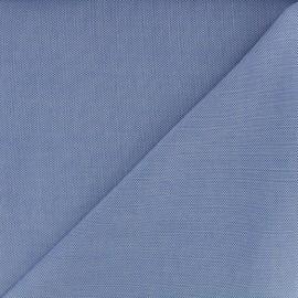 Tissu coton Oxford - bleu x 10cm