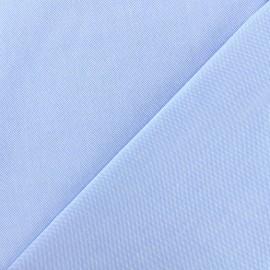 Tissu coton Oxford - bleu céleste x 10cm