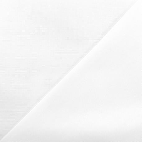 Tissu coton Oxford - blanc x 10cm