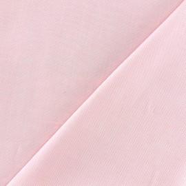 Tissu coton Oxford - rose x 10cm