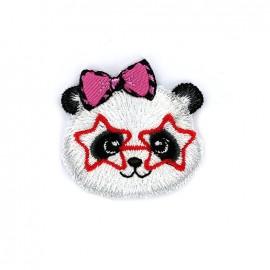 Thermocollant Copains à lunettes - panda