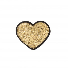 Thermocollant sequins  Sequins addiction - ananas