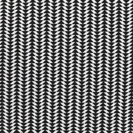 Chey cotton fabric - black x 10cm