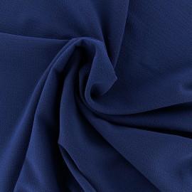 Tissu crêpe gaufré Linda - bleu roi x 10cm