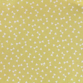 Yozid cotton fabric - yellow x 10cm