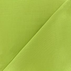 Tissu toile Plein Air 320cm - anis x 10cm