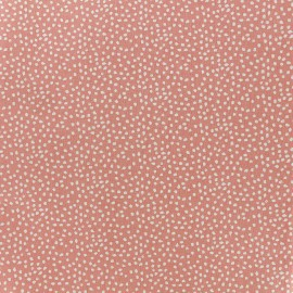 Tissu coton Tassi - corail x 10cm