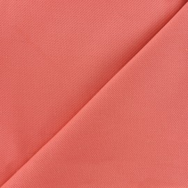 Twill Cotton Fabric - peach x 10cm