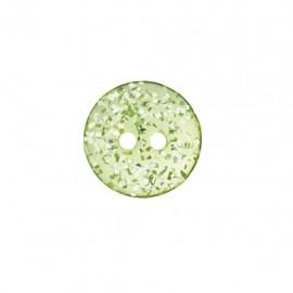 Polyester Button Merveille acidulée - green