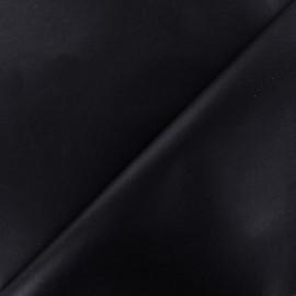Tissu enduit coton uni - marine x 10cm